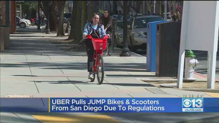 JUMP Bikes Being Pulled From One California City
