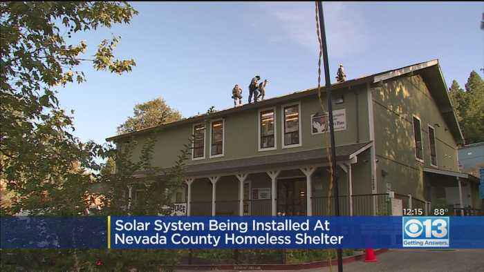 Solar System Installed At Nevada County Homeless Shelter
