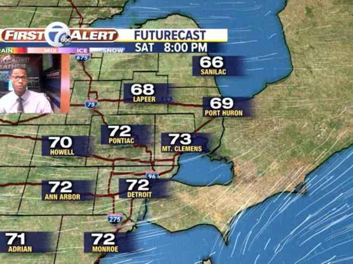 Severe weather in Metro Detroit