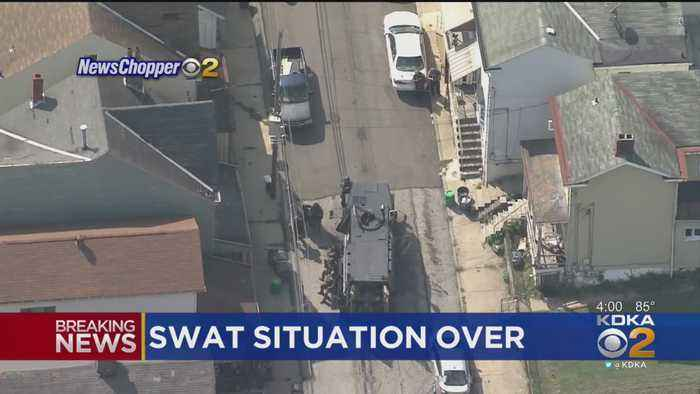 Millvale SWAT Situation Is Over
