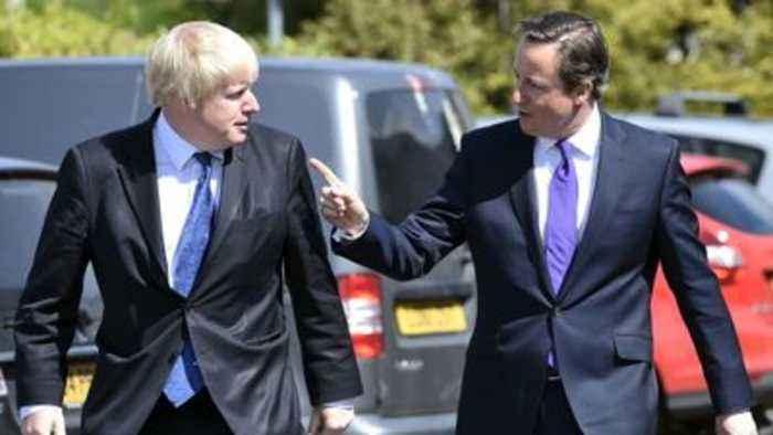 David Cameron criticises Johnson and Gove in new book