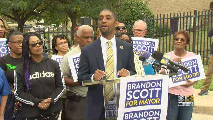 Baltimore City Council President Brandon Scott Announces Plans To Run For Mayor