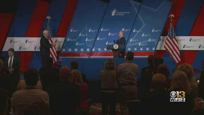 VP Mike Pence Speaks At GOP Retreat In Baltimore