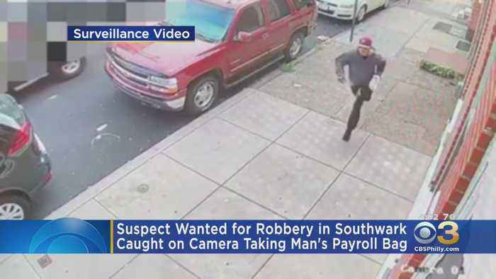 Police Searching For Suspect Caught On Camera Robbing 87-Year-Old-Man In South Philadelphia