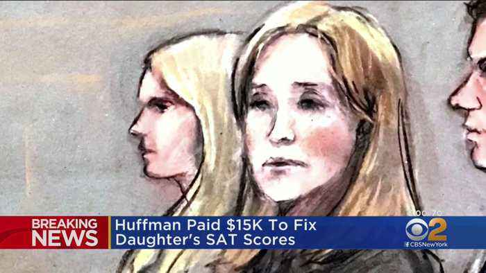Felicity Huffman Sentenced To Jail In College Admissions Scandal