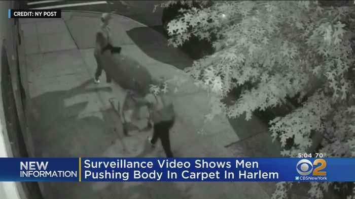 Video Released Of Body In Shopping Cart