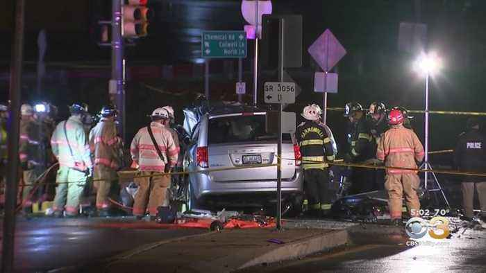 Violent Crash Leaves 3 People Dead At Busy Montgomery County Intersection