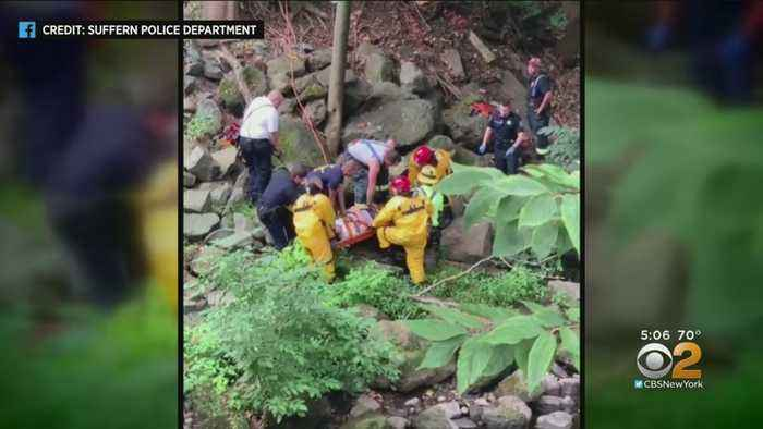 First Responders Pull Off Difficult, Dangerous Rescue At Mahwah River