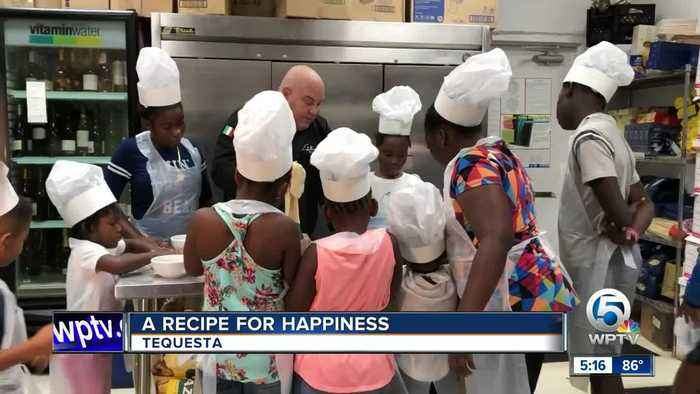 Chef has recipe that puts smiles on faces of kids impacted by Hurricane Dorian