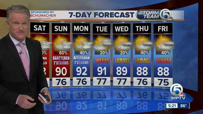 The latest forecast from Storm Team 5
