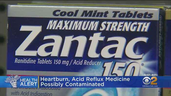Heartburn, Acid Reflux Medicine Possibly Contaminated