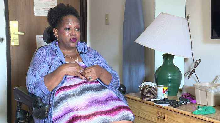 Woman with Disabilities Living in Virginia Hotel with No Money or Family