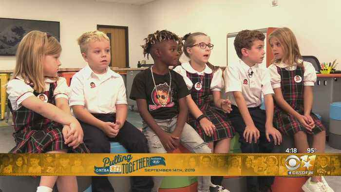 St. John's Episcopal 2nd Graders Pulling Together For Kids With Cancer