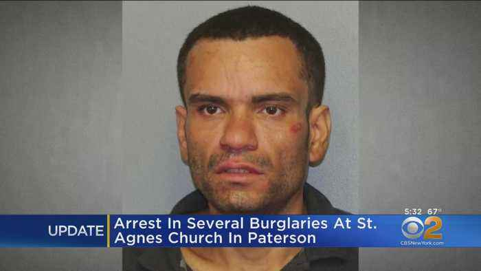 Arrest In Several Burglaries At St. Agnes Church In Paterson