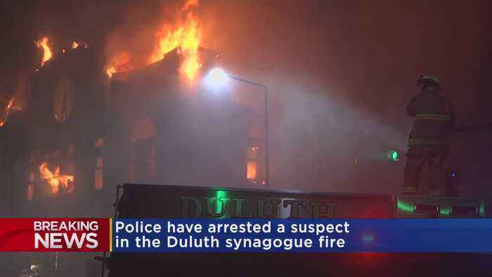 Suspect Arrested In Duluth Synagogue Fire