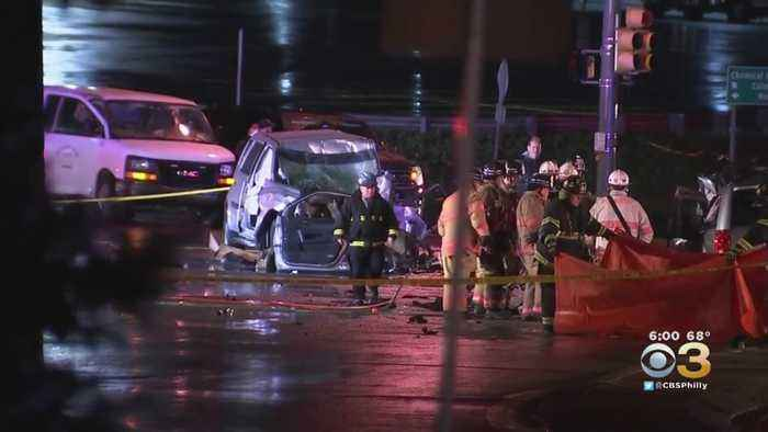 3 People Killed In Violent Montgomery County Crash