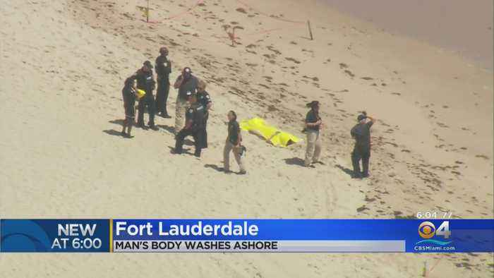 Body Of Man Washes Ashore