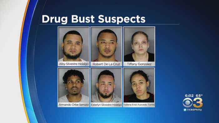 6 People Facing Charges After Drug Bust In Bucks County And Philadelphia