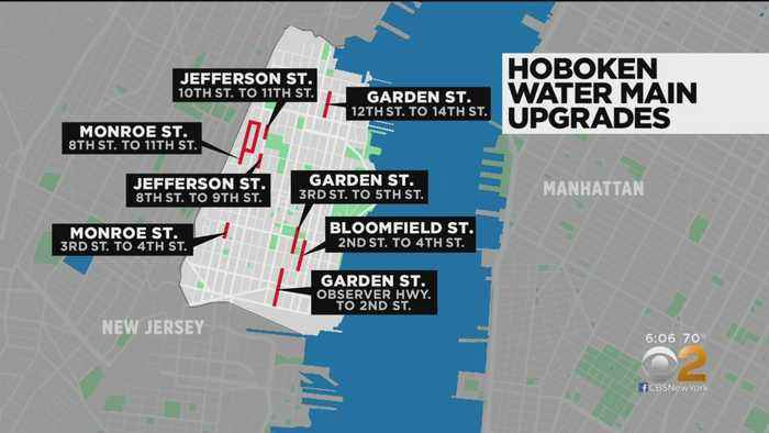 Hoboken To Begin Installing New Water Mains Monday