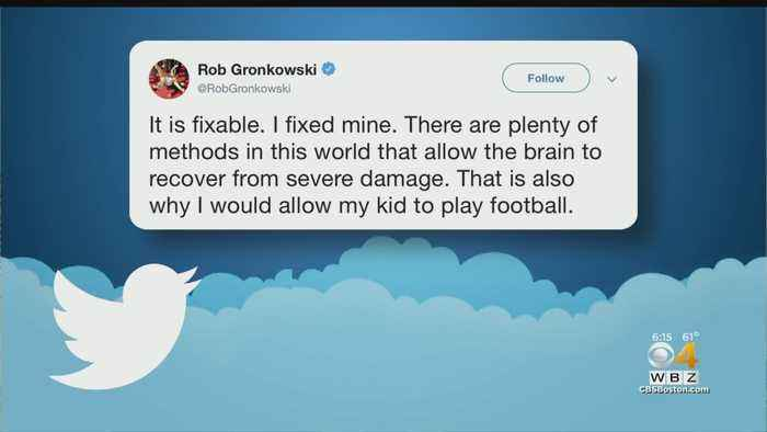 Concussions Expert Says CTE Can't Be Fixed, Rob Gronkowski Replies 'I Fixed Mine'