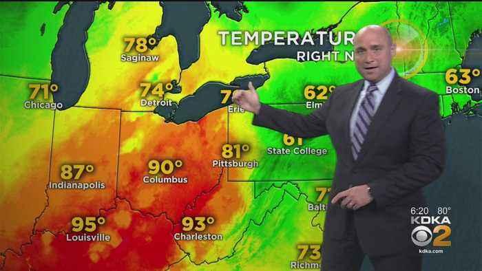 KDKA-TV Evening Forecast (9/13)