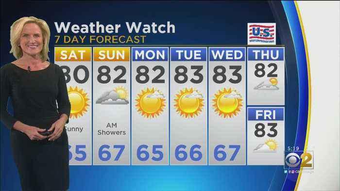 CBS 2 Weather Watch 5 p.m. 9-13-19