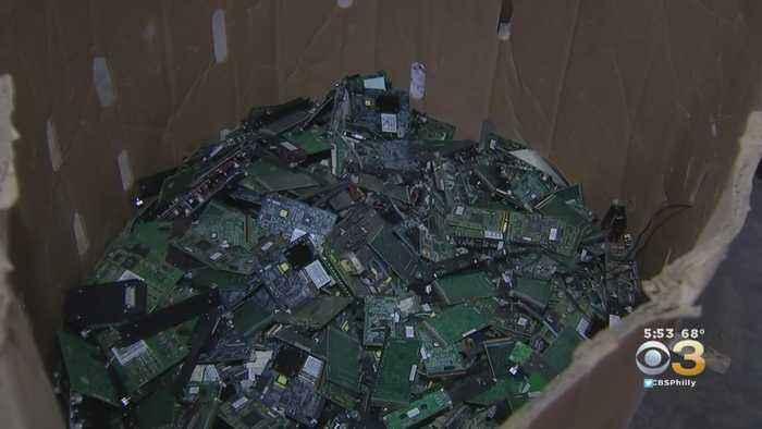 CBS3 Green Team: See How Recycling Process Breaks Down In Pennsauken