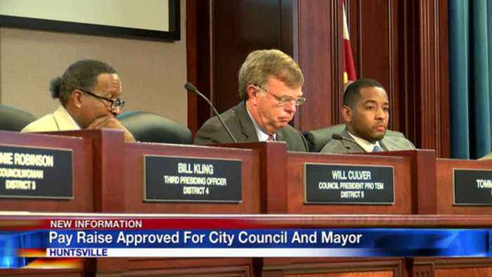 Pay raise approved for city council and mayor