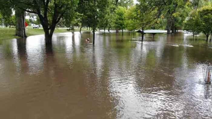 Drone video: Austin flooding