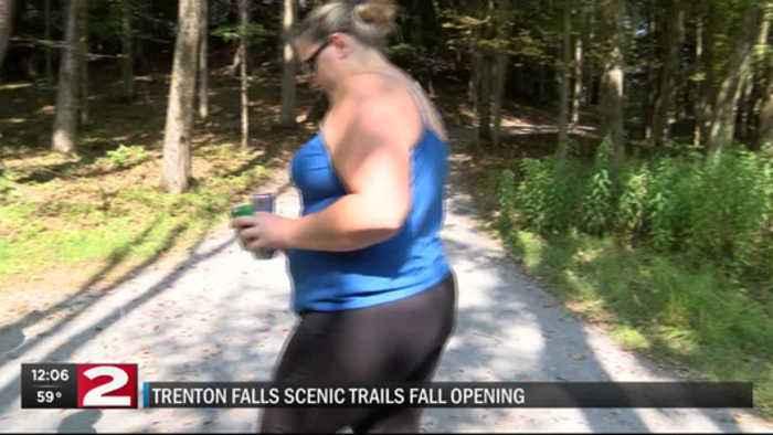 Trenton Falls Trail Opening