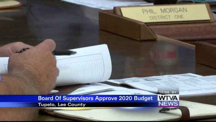 Lee County Board of Supervisors approve 2020 budget