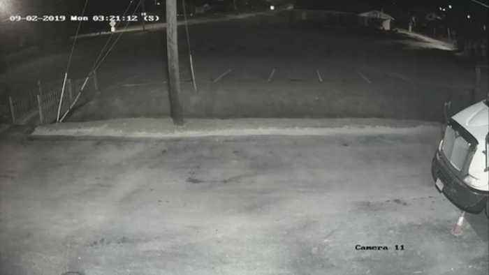 Surveillance footage: Huntsville police investigating after delivery driver attacked (2)
