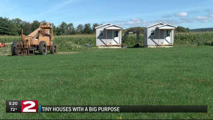 Tiny Houses with a big purpose