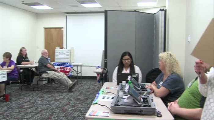 Vigo County leaders hold mock election
