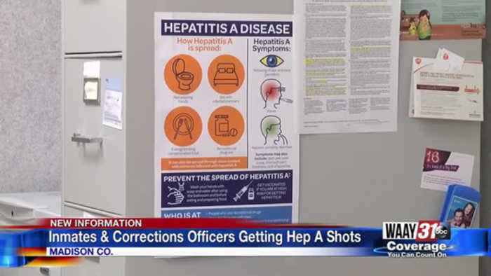 Madison County inmates, corrections officers getting Hepatitis A vaccines