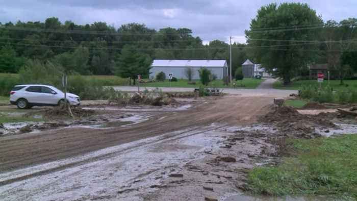 Multiple roads closed in Crawford County due to flooding