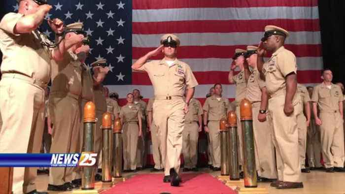 Seabee Chief Petty Officer Pinning Ceremony