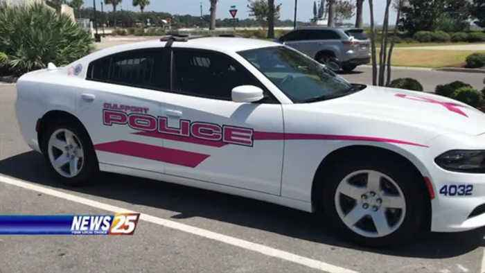 Gulfport PD raising awareness for breast cancer