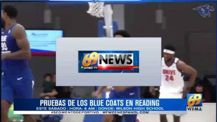 Blue Coats vienen a Reading Pensilvania