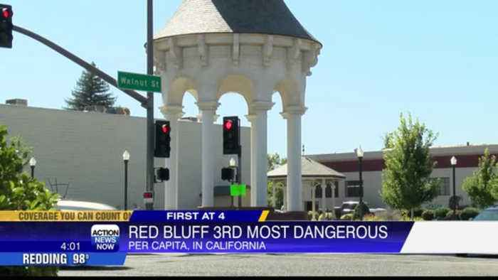 Redding and Red Bluff top the list of most dangerous cities in California
