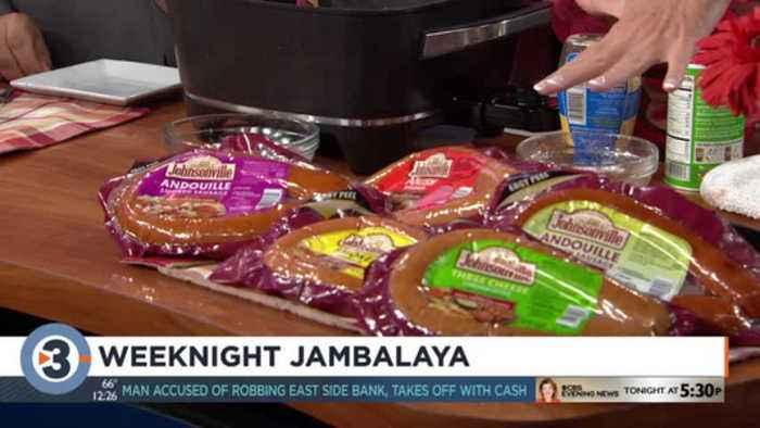 Cooking Mom shares Weeknight Jambalaya recipe