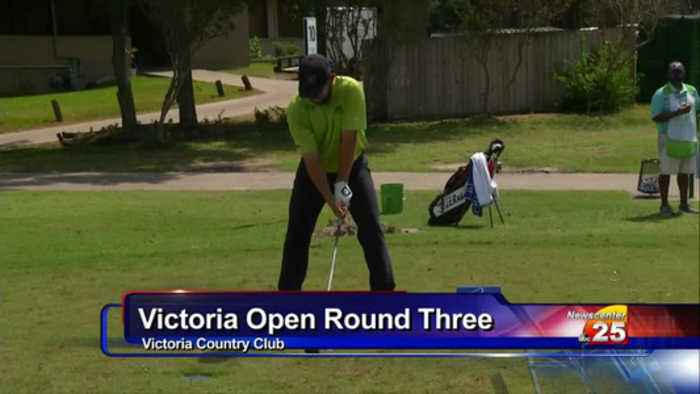 Victoria Open Pro Golf Round Three