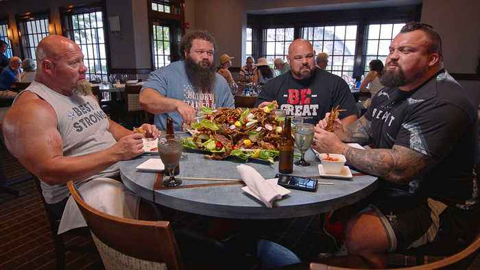The Strongest Man in History: THE STRONGEST MEN IN HISTORY'S 10,000 CALORIE DIET