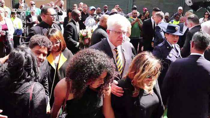 Emotional farewell for South African rugby legend Chester Williams