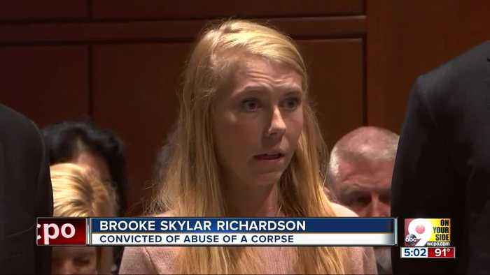 Brooke Skylar Richardson heads home, will stay on probation
