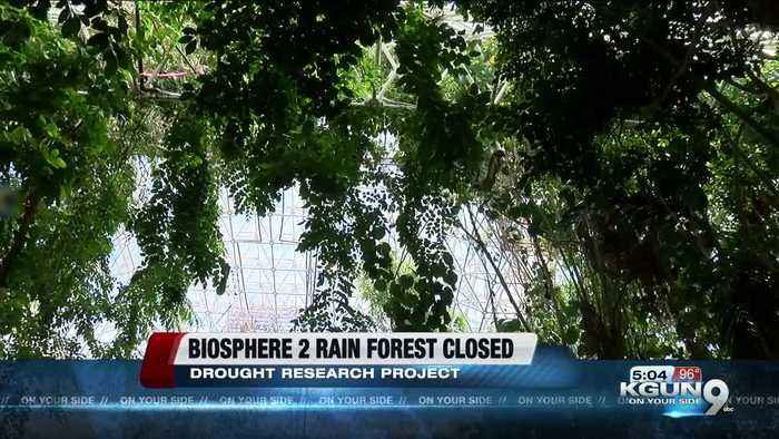 Biosphere 2 rainforest to close for major drought study