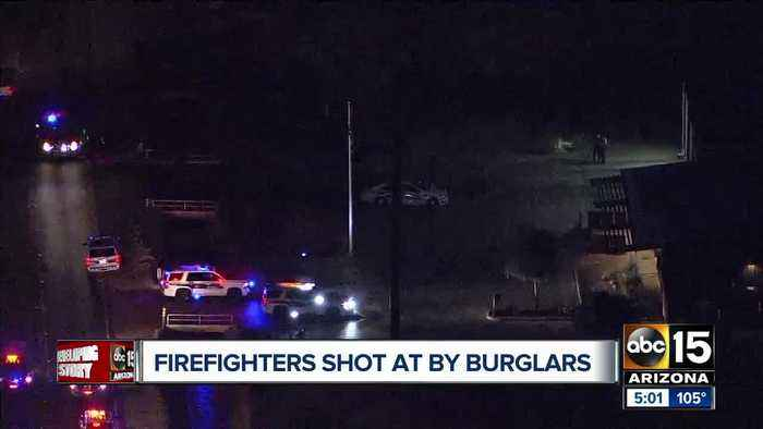 Phoenix firefighters shot at in Laveen area