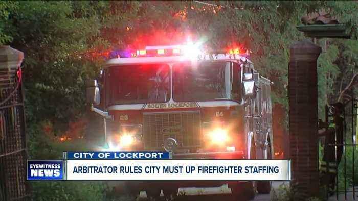 Arbitrator rules City of Lockport must restore firefighter staffing