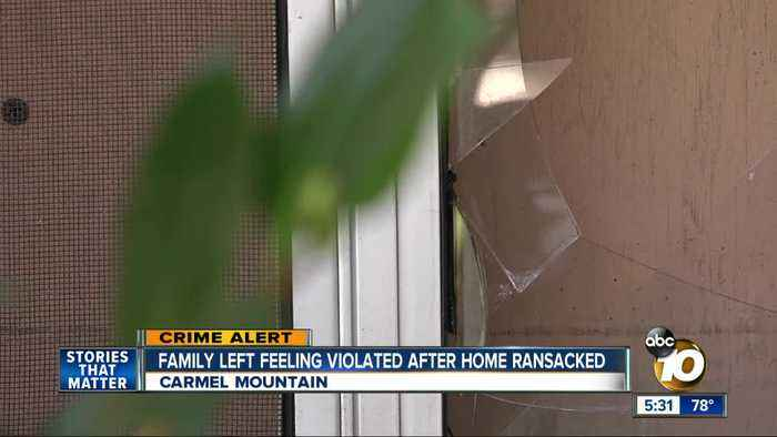 Carmel Mountain family left feeling violated after burglar ransacks home