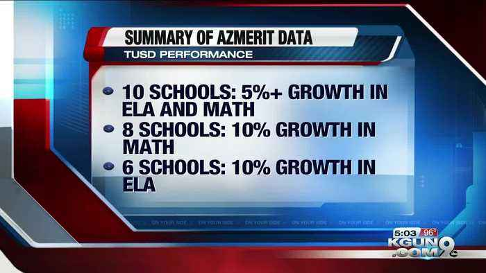 Latest AzMERIT scores from TUSD still behind state averages, but showing improvement